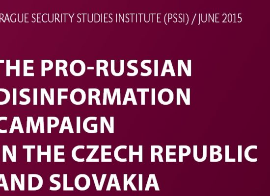 New paper: The Pro-Russian Disinformation Campaign in the Czech Republic and Slovakia