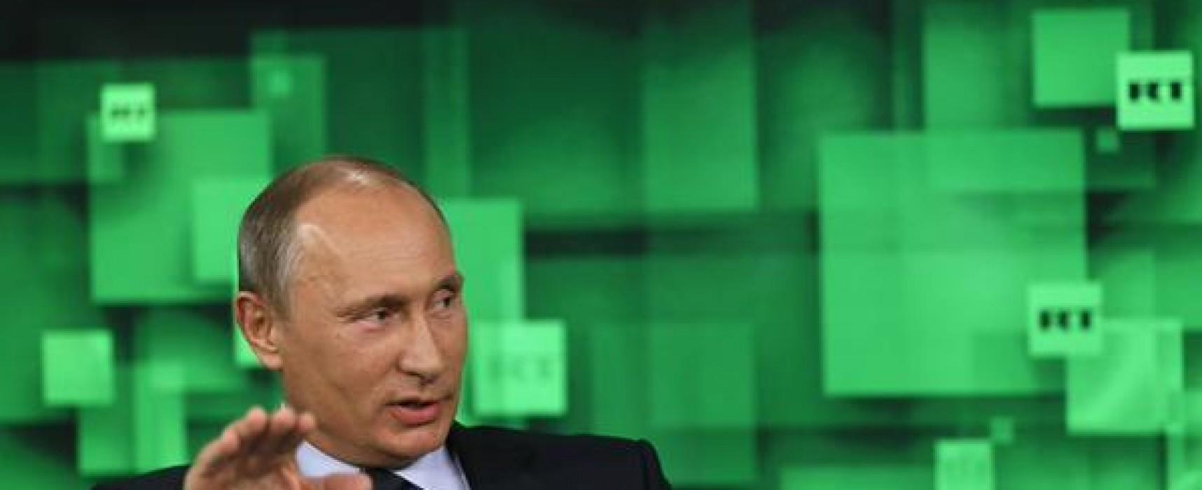 Putin Said to Open Irish Front Against 'Anglo-Saxon' News