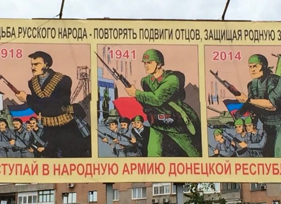 Russian media operates by law of war, tapping into Great Patriotic War myth