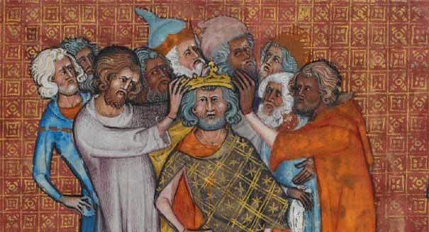 Иллюстрация из французского манускрипта XIV века. Источник: British Library/bl.uk