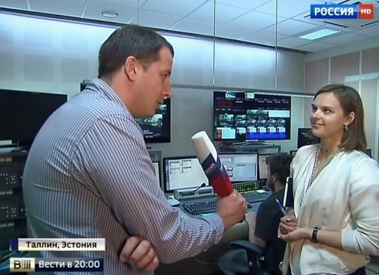 В Эстонии чиновникам рекомендуют не общаться с российскими журналистами