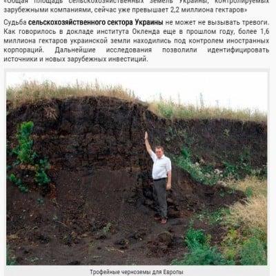 Autorităţile suedeze au negat zvonurile despre achiziţionarea de cernoziom ucrainean