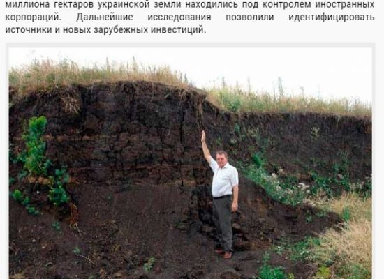 Fake: Sweden's Purchase of Ukrainian Black Soil