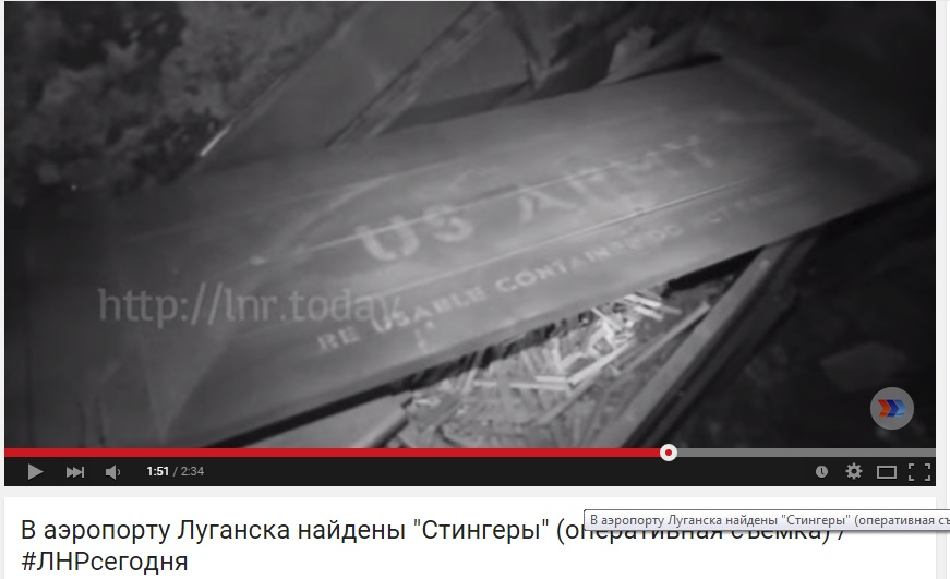 "Captura de pantalla del video de ""República Popular de Lugansk"""