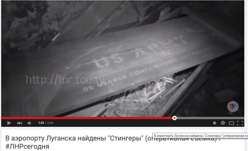 """Captura de pantalla del video de """"República Popular de Lugansk"""""""
