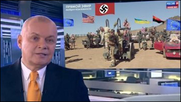 Dmitry Kiselyov, best known for his claim that Russia could turn the USA into radioactive dust  (photo from Naviny.by)