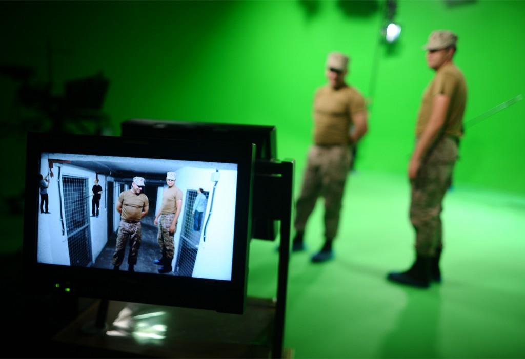 Студия визуальных эффектов телеканала RT. Фото: Зураб Джавахадзе / ИТАР-ТАСС