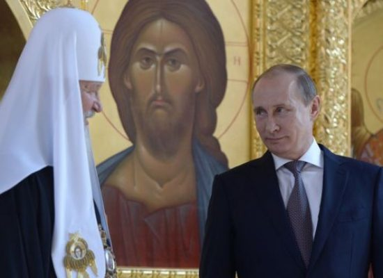 Russian Orthodox Church lends weight to Putin patriotism