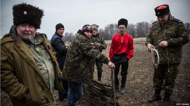 Cossacks have been fighting alongside pro-Russian separatists in eastern Ukraine