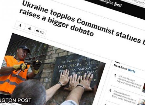 BBC: Какую неправдивую информацию преподносят СМИ о законах «против «красных» в Украине
