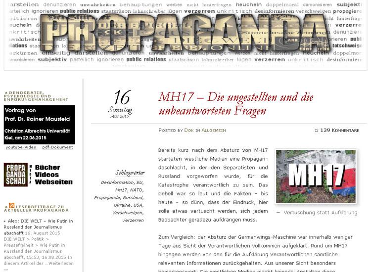 Propagandaschau