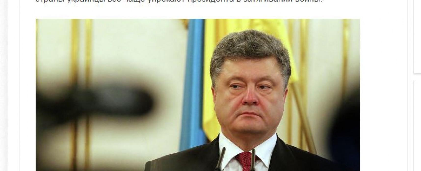 Presa rusă a denaturat sensul unui articol dintr-un ziar german despre preşedintele Ucrainei
