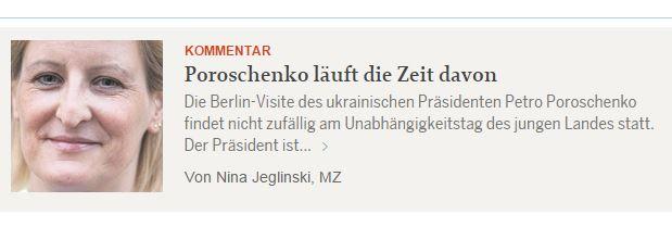 Captura de pantalla de mittelbayerische.de