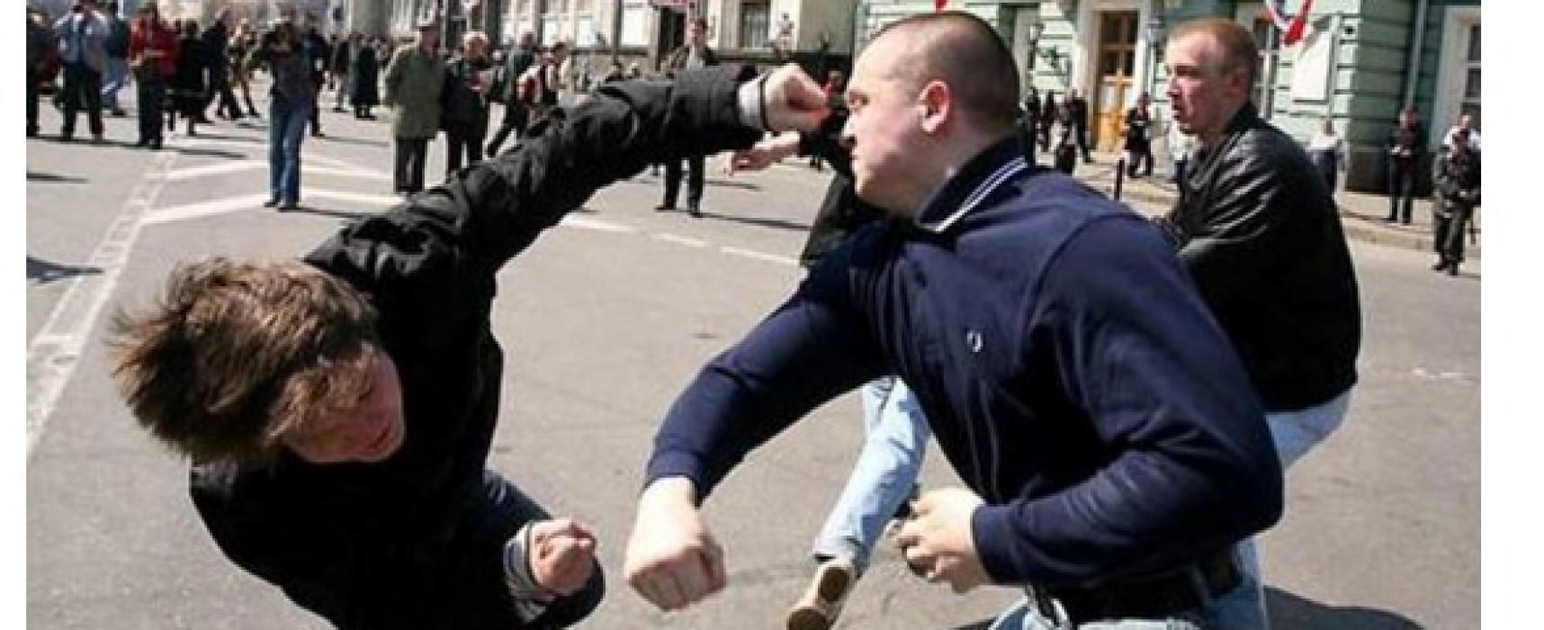 Los medios ilustraron la nota sobre la pelea entre rusos, ucranianos y kazajos con una foto falsa