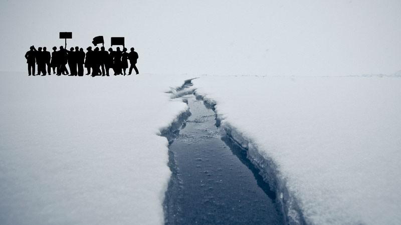 Marco Fieber's Olkhon Island, Siberia, photograph, February 25, 2013, edited by Kevin Rothrock. CC 2.0