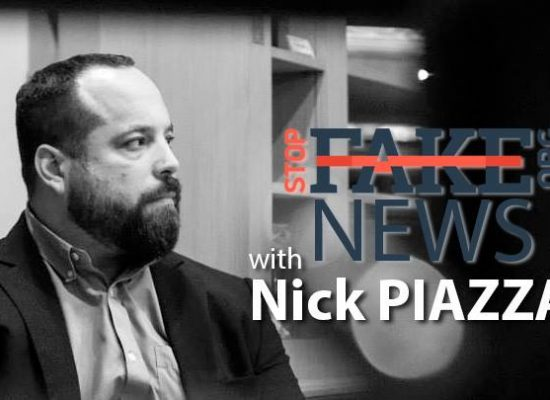 StopFakeNews #51 [ENGLISH] with Nick Piazza