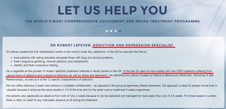 Скриншот сайта www.doctor-robert.com
