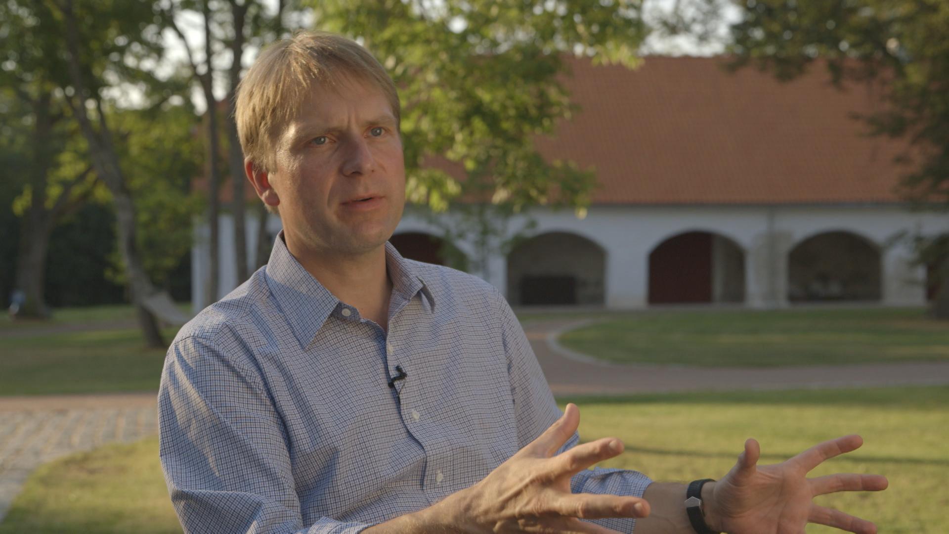 Eerik - Niiles Kross, former Estonian diplomat and the head of secret service. PHOTO: Re:Baltica/Mistrus Media