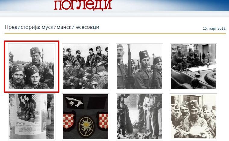 Screenshot de pe site-ul  pogledi.rs