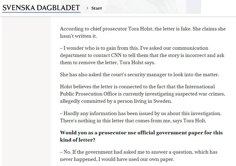 Скриншот svd.se