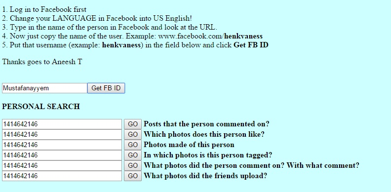 How to Find Information on Facebook  Part 2   StopFake