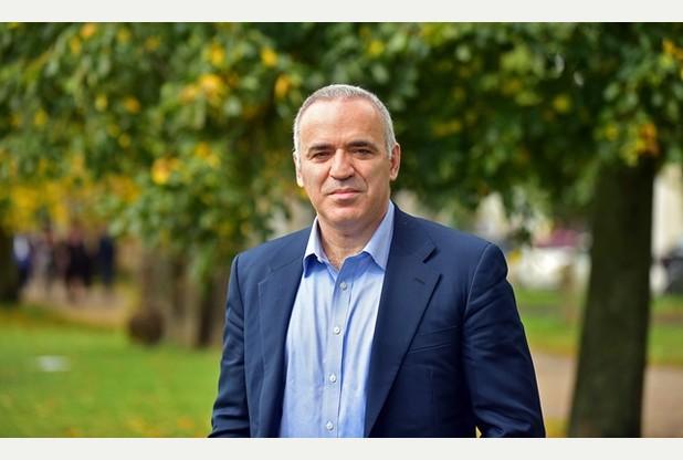 Former chess player Gary Kasparov at Cheltenham Literature Festival/ Pics Kevin Fern Photography