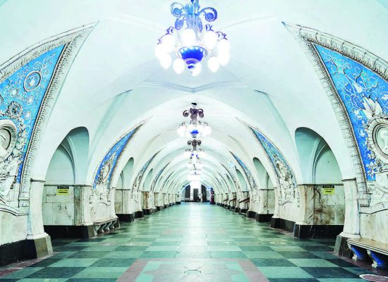 Opulent Propaganda: The Subterranean Paradise of the Moscow Metro