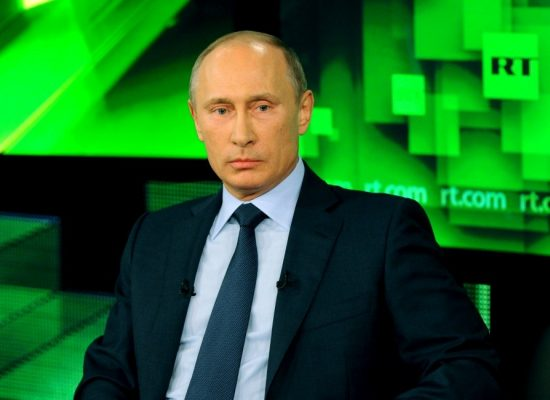 Putin Begins Propaganda Blitz to Sell his Syrian Bombing Campaign