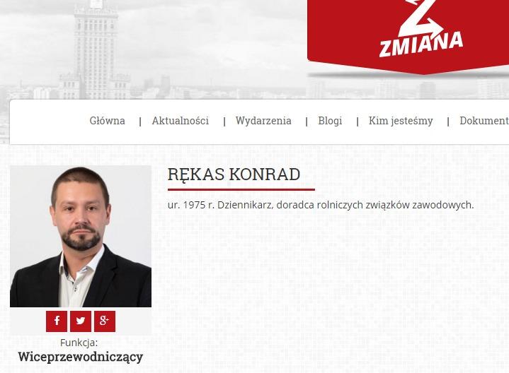 Скриншот на partia-zmiana.pl