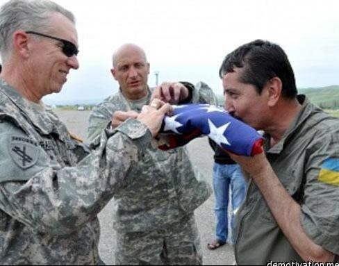 """Fotofake cu """"militarul ucrainean"""""""