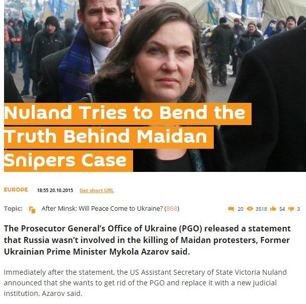 Screenshot de pe site-ul sputnik.com