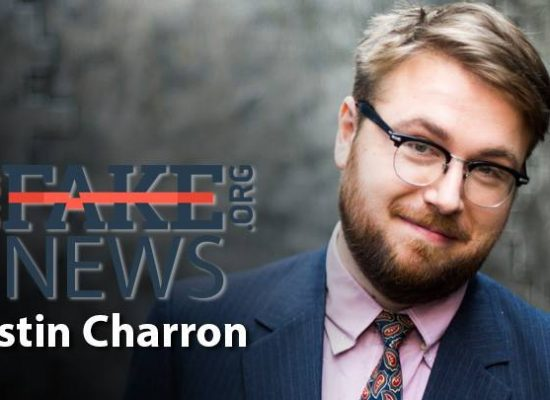 StopFakeNews #58. [ENGLISH] with Austin Charron