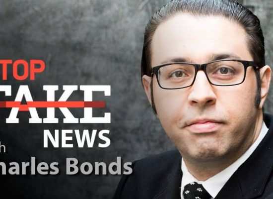 StopFakeNews #60 with Charles Bonds