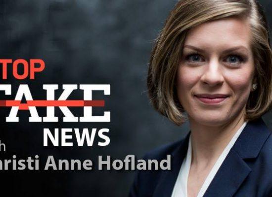 StopFakeNews #61 with Christi Anne Hofland