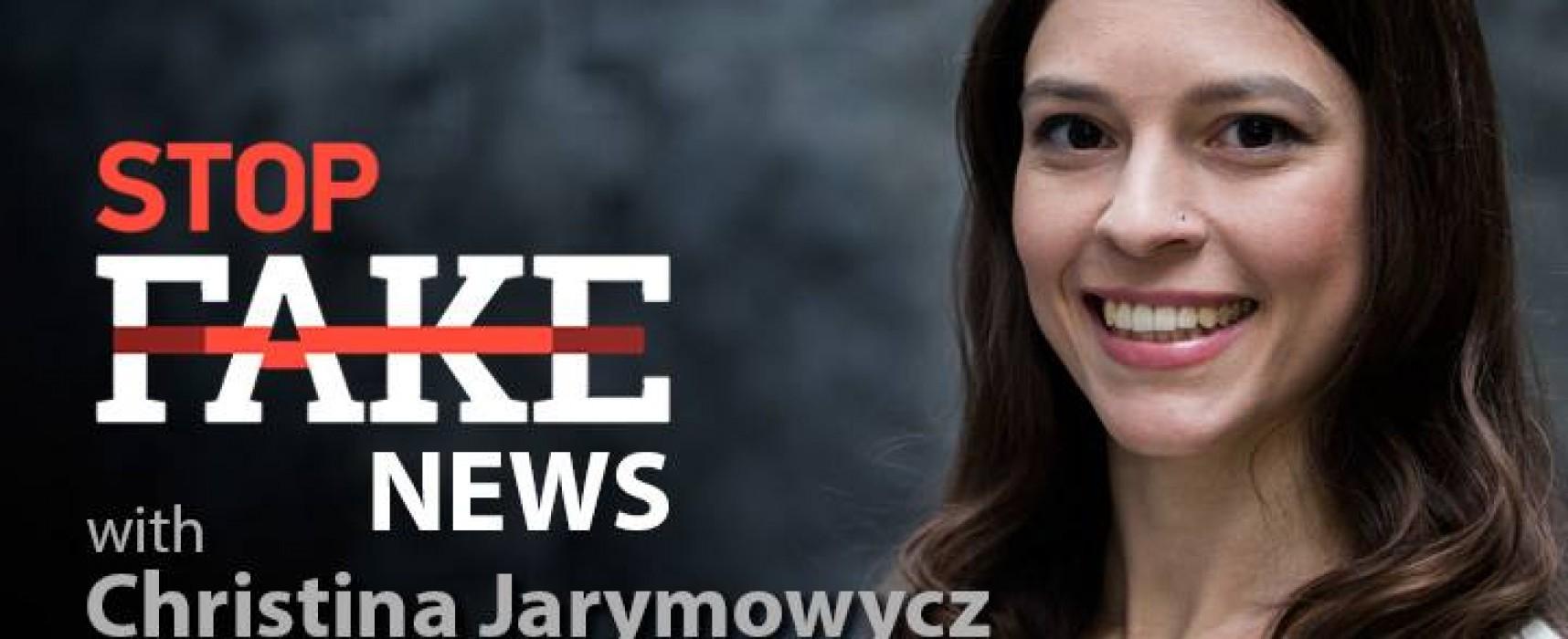 StopFakeNews #62 with Christina Jarymowycz