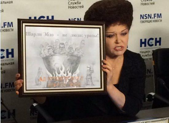 Сенатор Петренко выдала карикатуру с Евромайдана за свою — на Charlie Hebdo
