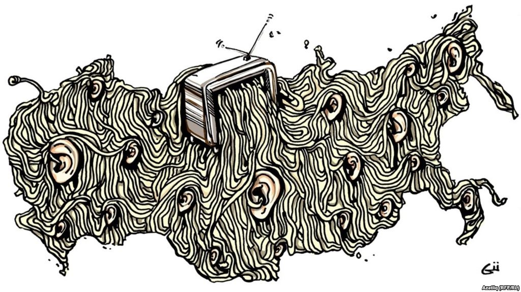 Карикатура Гузель Гариповой