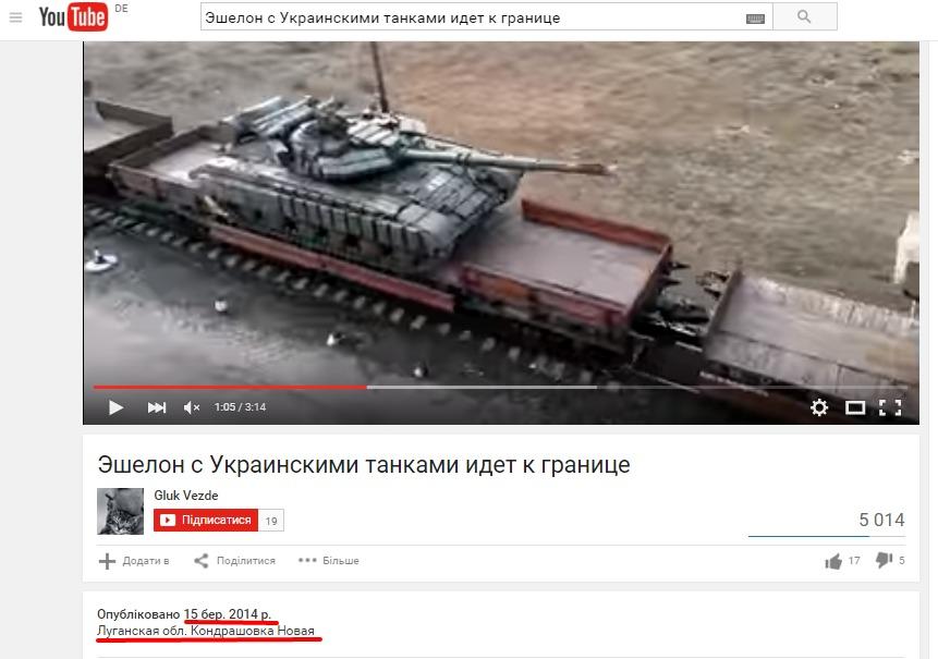 Captura de pantalla del usuario Gluk Vezde en Youtube