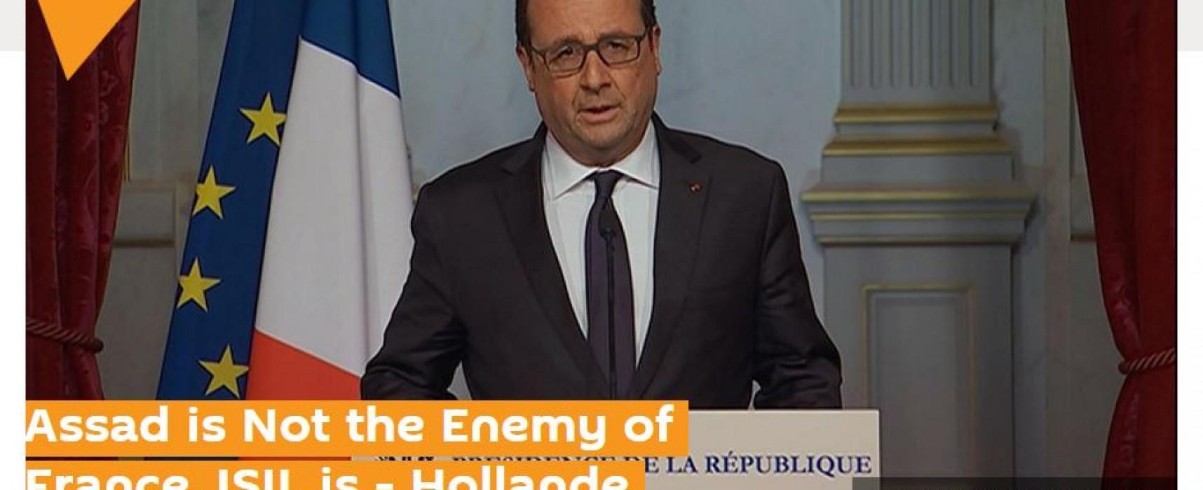 Российские информагентства исказили слова Франсуа Олланда об Асаде