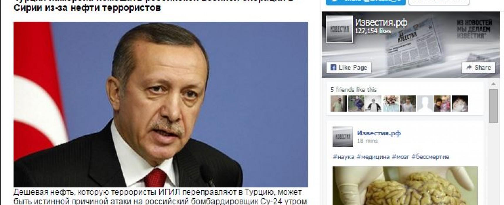Des médias russes ont présenté des restaurateurs d'Istanbul comme étant des leaders de l'État Islamique