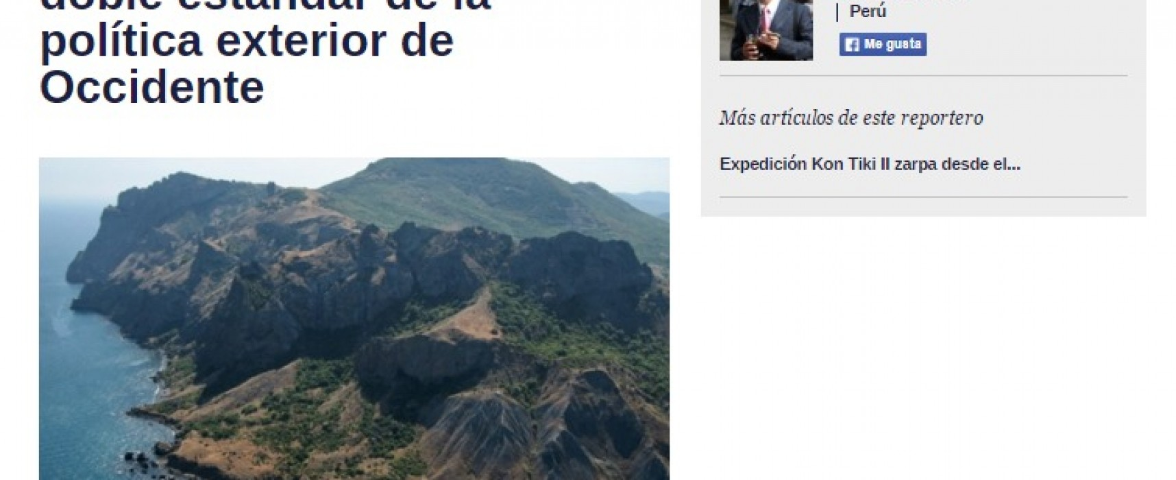 Una opinión de un periodista del holding ruso fue publicada  como si fuera un artículo analítico de la prensa venezolana
