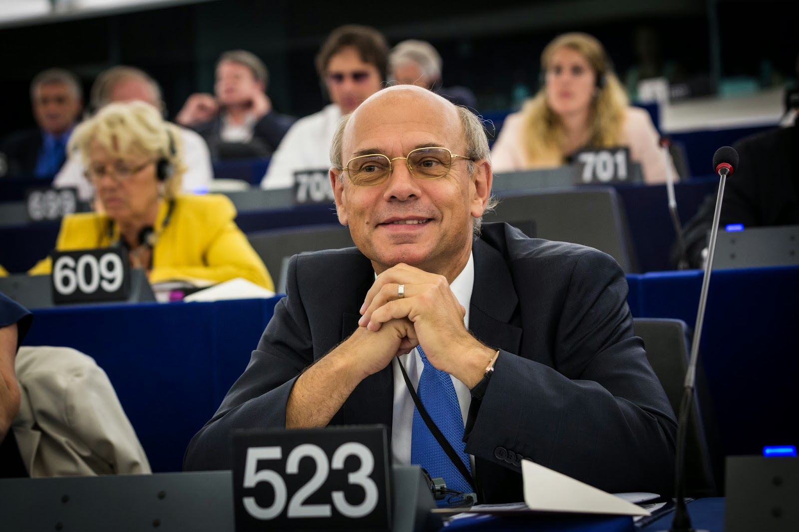 Jean-Luc Schaffhauser in the European Parliament