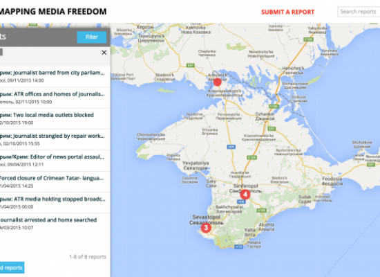 """Fear peninsula"": How Russia closed down media freedom in Crimea"