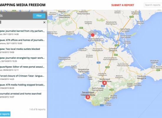 """Fear peninsula"": How Russia closed down media freedom in Crimea"