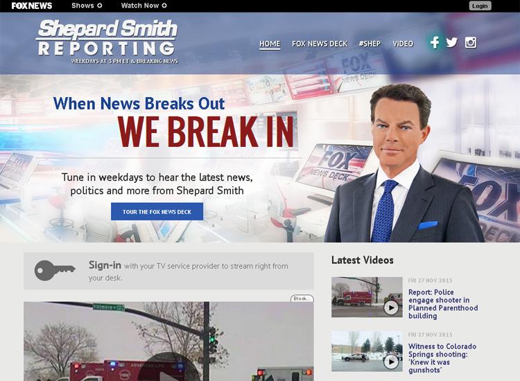 Скриншот на сайта FOXnews