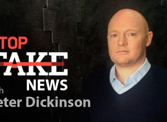 StopFakeNews #66 with Peter Dickinson