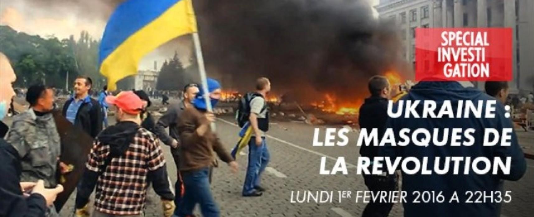 Les Masques de la Révolution: une illustration des manipulations par un journaliste