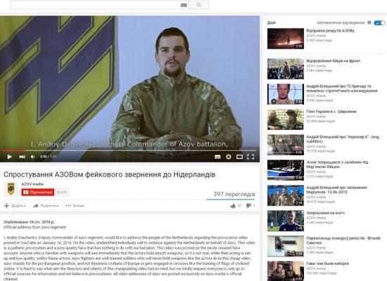 'Anti-Nederlands dreigfilmpje is Russische propaganda'