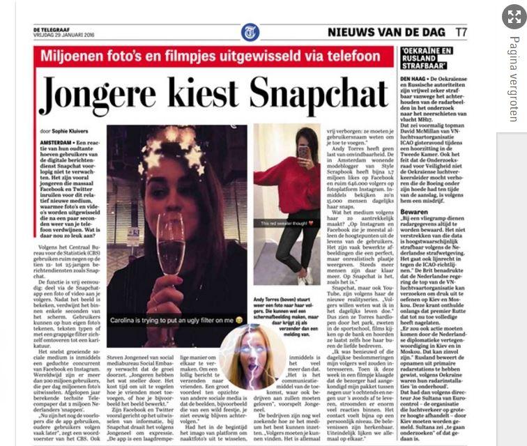 De Telegraaf, 19 januari 2016, pagina 17