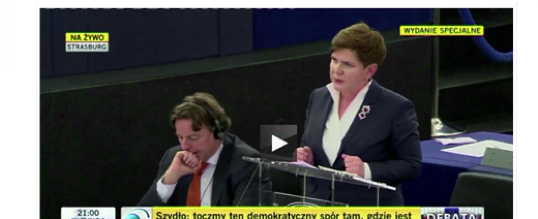 Премьер Польши назвала украинских мигрантов беженцами
